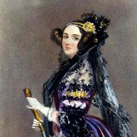 Famous woman Ada Lovelace, computer programmer
